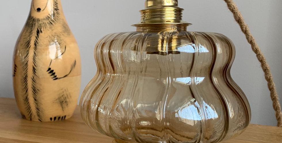 Baladeuse en verre vintage