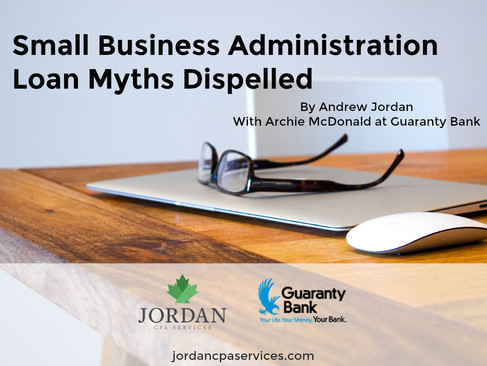 Small Business Administration Loan Myths Dispelled
