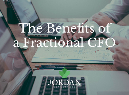 The Benefits of a Fractional CFO