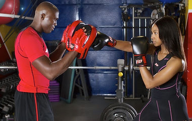 Kickboxing to improve fitness, power, flexibility, coordination and agility.