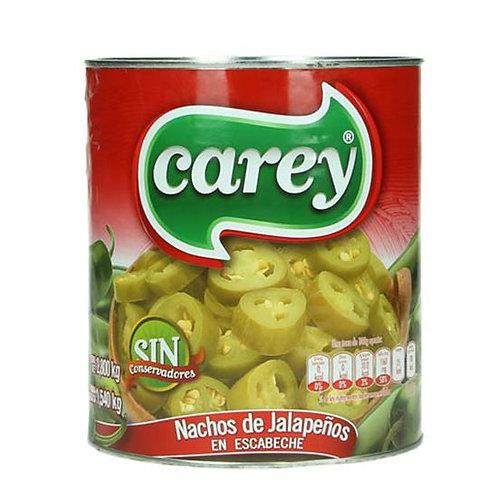"""Pickled Jalapeño Nacho Slices """"Carey"""""""