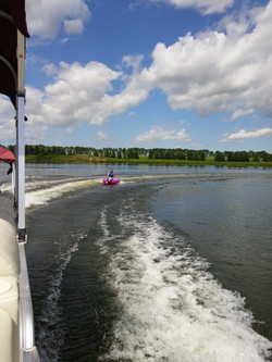 Boating and tubing