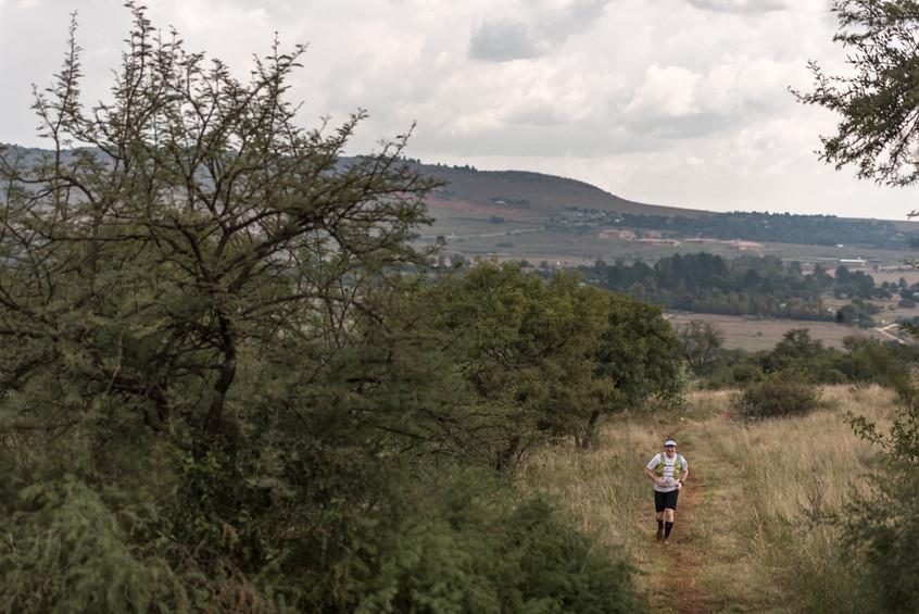 Last few kilometers on the 50km route
