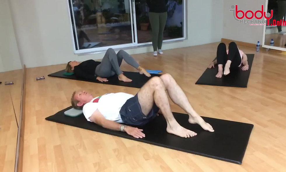 Pure mat class focusing on a full body workout