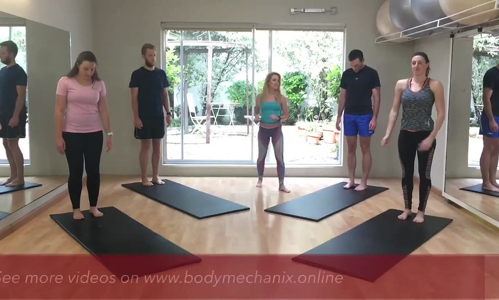 Athletes try Pilates for the first time - Pt 2
