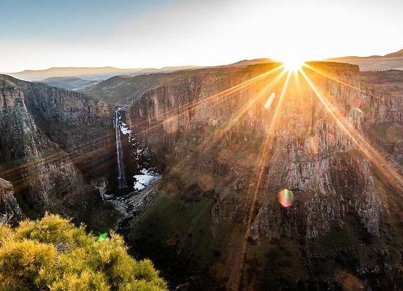 Maletsunyane Falls Sunrise