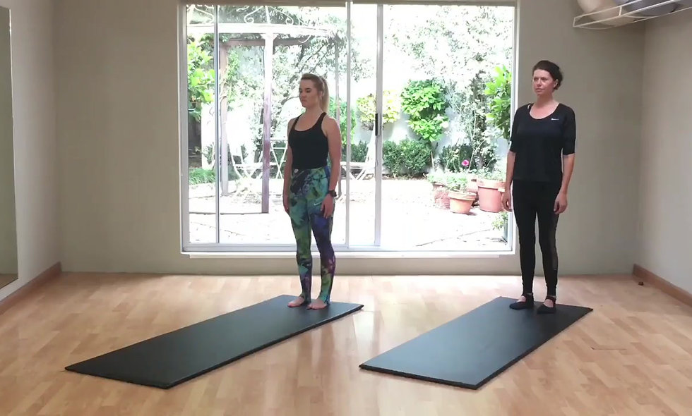 Variations of exercises for Instructors/experienced clients