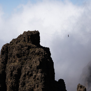A walk above the clouds