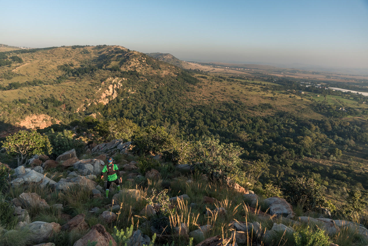 Landscape view of the Kings Kloof