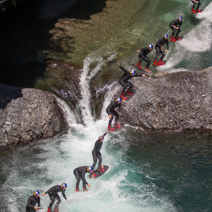 Wakeboard Through Chilean Rock Pools