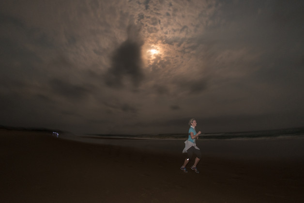 The full moon night run after registration (Stage 1) will be a great ice-breaker for  participants to warm up the legs and take in the crab-strewn beaches in the light of the   moon.