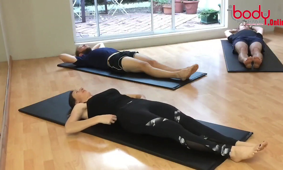 Athletes try Pilates for the first time - Pt 3