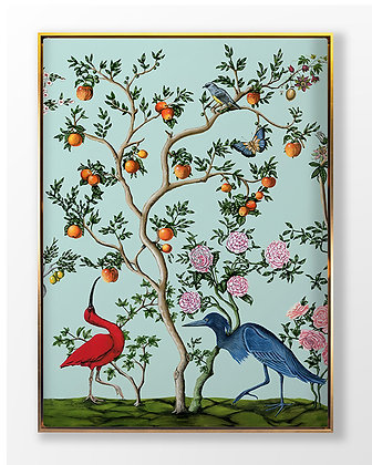 Birds and Branch Chinois 1