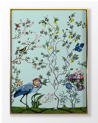 Birds and Branch Chinois 3
