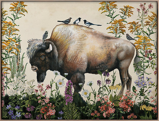 Bison Painting 2