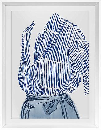 Fashionably Blue
