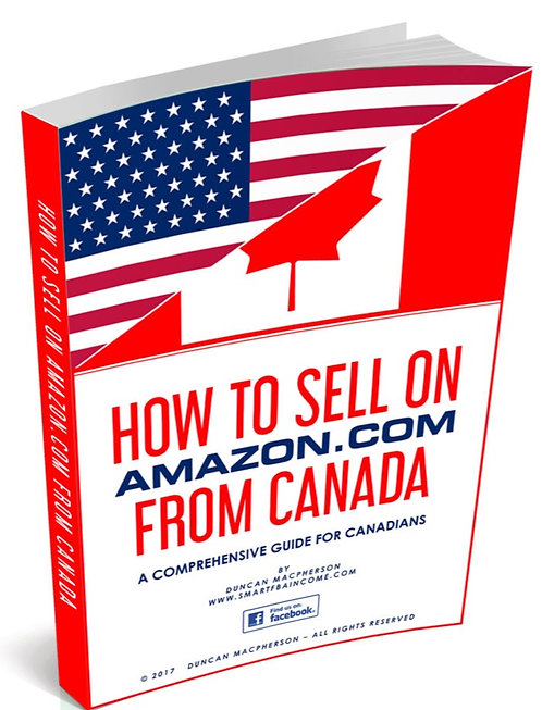 How to Sell on Amazon from Canada eBook PLUS Website Exclusive Bonuses