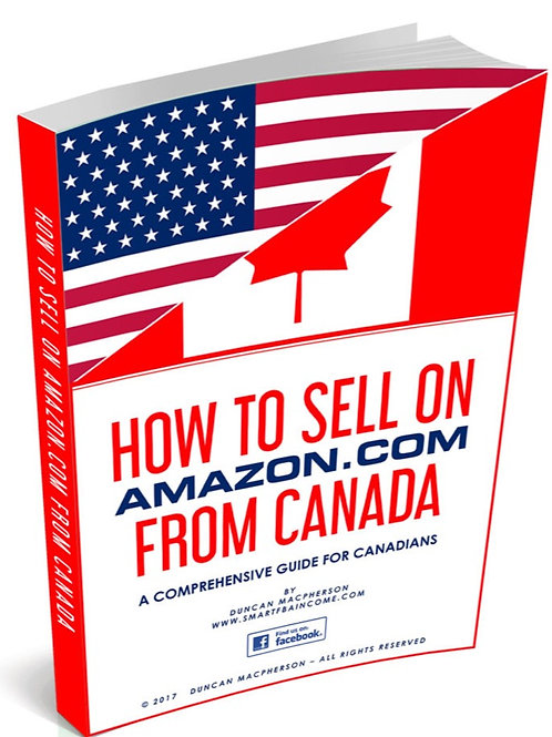 How to Sell on Amazon from Canada eBook