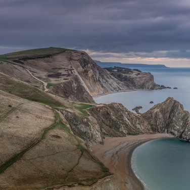 Durdle Door and Man O'War Bay