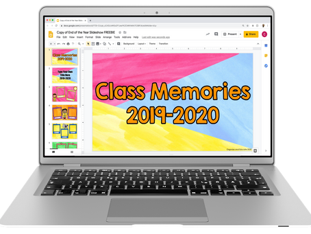Relive this school year's memories with a slide show!