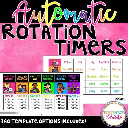 Automatic Rotation Timers (PowerPoint)