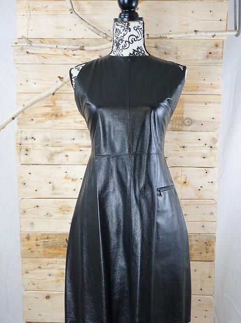 Kleid (Echtes Leder) Gr. 38