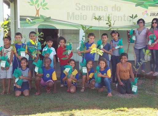E.M.E.F. Nossa Senhora de Nazaré na Semana do Meio Ambiente