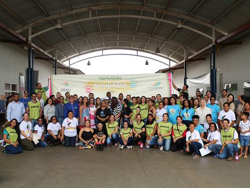 Voluntários do Observatório Solidário 2018