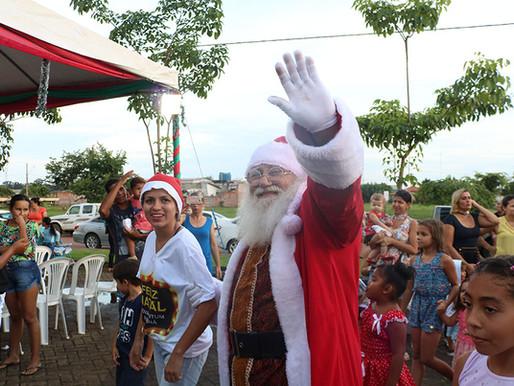 Festa de Natal em Nova Mutum Paraná