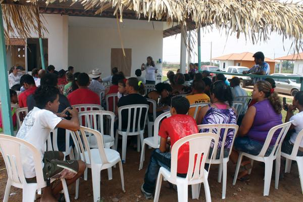 Reunião com Produtores Rurais do Observatório Ambiental Jirau