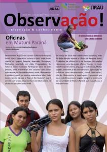 Jornal Observação - Primeira Edição