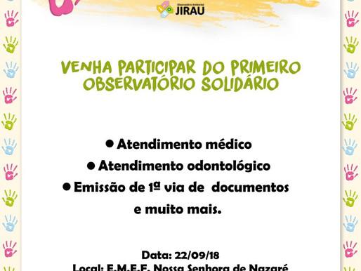 JIRAU: Ações de cidadania movimentam Nova Mutum Paraná