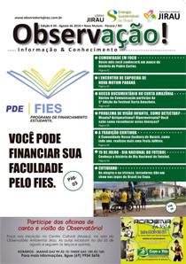 Jornal Observação! – Trigésima Edição