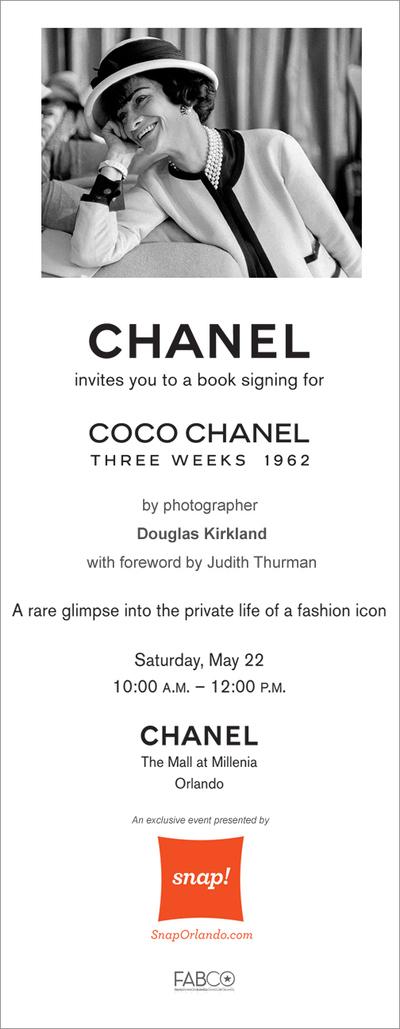 Coco Chanel SNAP!Orlando