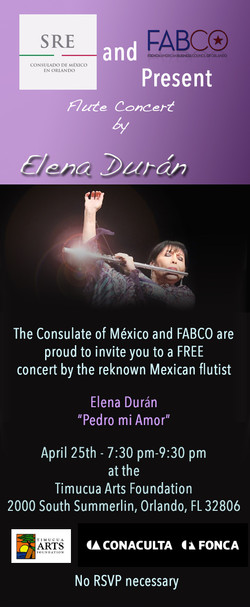 flute concert consulat mexico
