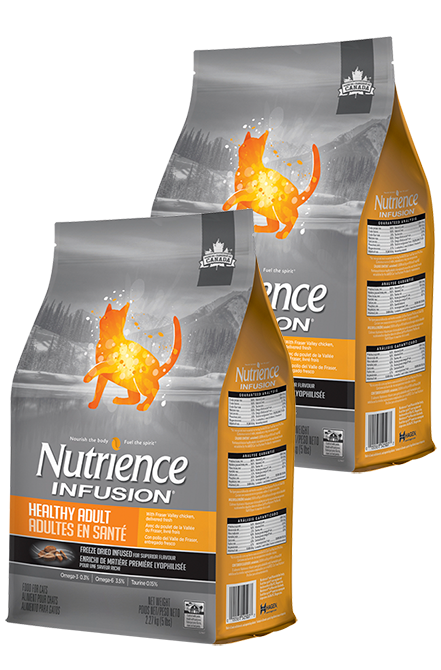 Nutrience - PACK 2X Infusion Cat Adulto 2,27Kg.