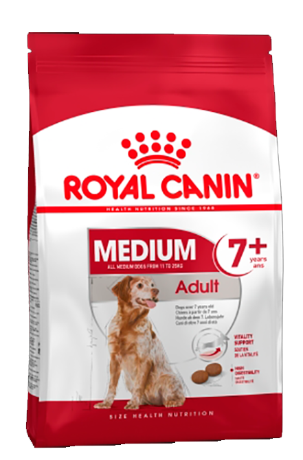 Royal Canin - Medium Adulto7+ 15Kg.