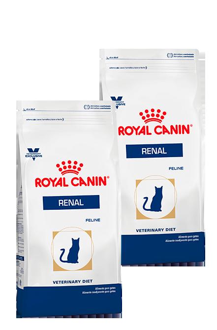 Royal Canin - PACK 2X Renal Feline 2Kg.