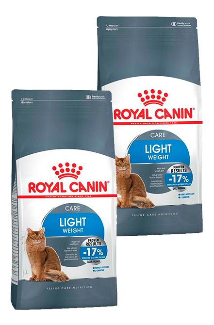 Royal Canin - PACK 2X Light Gato 7,5Kg