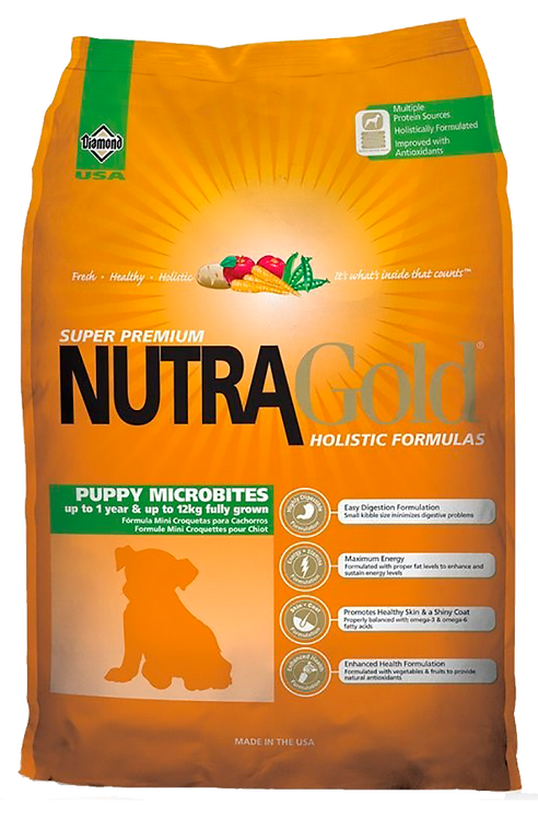 Nutragold - Puppy Microbites 7,5Kg.