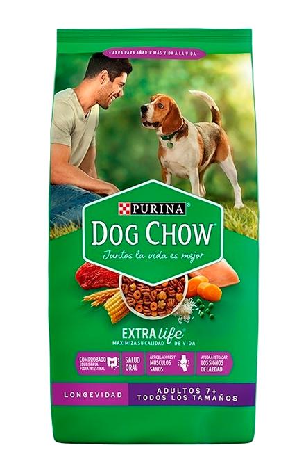 Dog chow - Senior +7 18Kg.