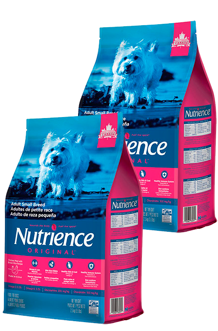 Nutrience - PACK 2X Original Adult Small  5Kg.