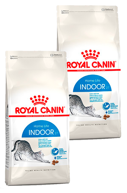 Royal Canin - PACK 2X Indoor 7,5Kg.