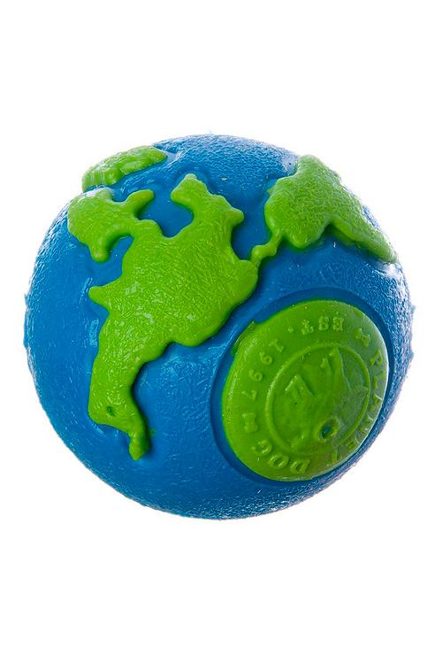 Planet - Dog ball azul-verde M.