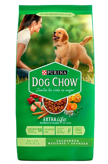 Dog chow - Cahorro Raza media y Grande 18Kg.