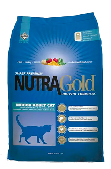 Nutragold - Indoor Adult Cat 7Kg.