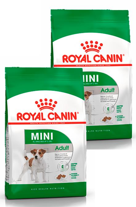 Royal Canin - PACK  2X Mini Adulto 7,5Kg.