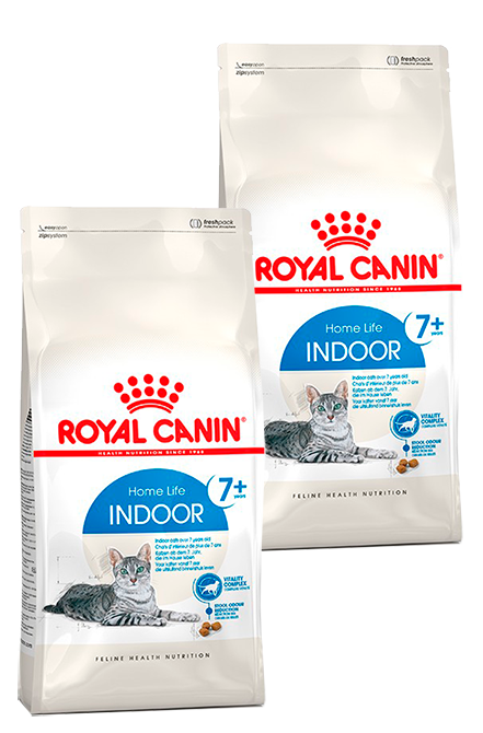 Royal Canin - PACK 2X Indoor+7  7,5Kg.