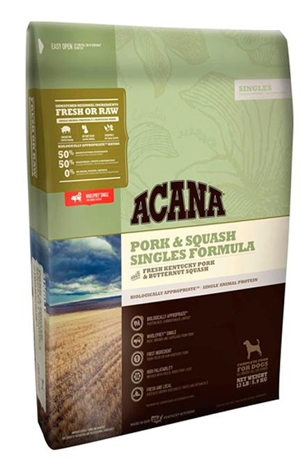 Acana - Pork & Squash 11,35Kg.
