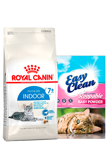 Royal Canin - PACK Indoor+7  7,5Kg + Arena 15Kg.